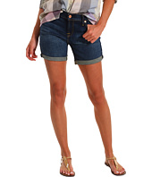 7 For All Mankind - Mid Roll-Up Short in Genuine Dark Blue