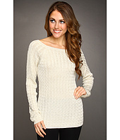 Jones New York - Textured Shimmer Pullover Sweater