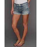 7 For All Mankind - Josefina Boyfriend Roll-Up Short in Pure Light Blue
