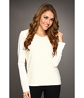 Jones New York - Lace Front L/S Top