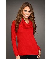 Jones New York - Cowl Neck Shimmer Sweater