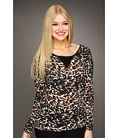 Kensie - Textured Animal Top