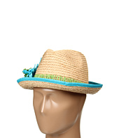 Betsey Johnson - Raffia Flower Fedora