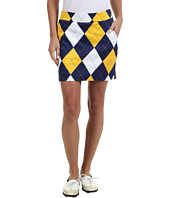 Loudmouth Golf - Blue Gold Mega Skort
