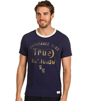 True Religion - S/S Graphic Ringer Tee West Coast Enduro