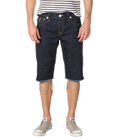 True Religion - Ricky Straight Fit Cut-Off Short in Body Rinse