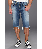 True Religion - Ricky Straight Fit Cut-Off Short in Sepulveda