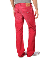 True Religion - Ricky Straight Cold Press in Dusty Ridge Red