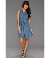 Kensie - Dot Chambray Dress