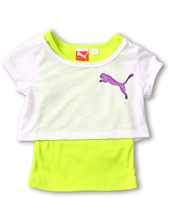 Puma Kids - 2Fer w/ Sheer Tee & Tank (Toddler)