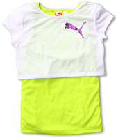 Puma Kids - 2Fer w/ Sheer Tee & Tank (Big Kids)
