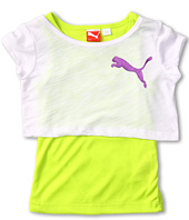 Puma Kids - 2Fer w/ Sheer Tee & Tank (Little Kids)