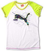 Puma Kids - Form Stripe Cat Raglan (Big Kids)