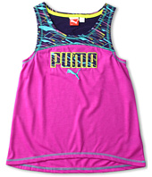 Puma Kids - Puma Colorblock Drapey Tee (Big Kids)
