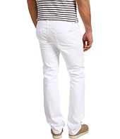 7 For All Mankind - Slimmy Straight Leg in Clean White
