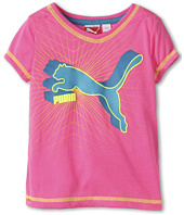 Puma Kids - Classic Cat V-Neck Tee (Toddler)