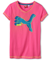 Puma Kids - Classic Cat V-Neck Tee (Big Kids)