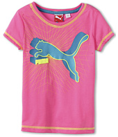 Puma Kids - Classic Cat V-Neck Tee (Little Kids)
