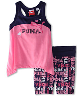 Puma Kids - Puma Printed Biker Short Set (Toddler)