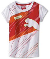 Puma Kids - Form Stripe Tee (Little Kids)