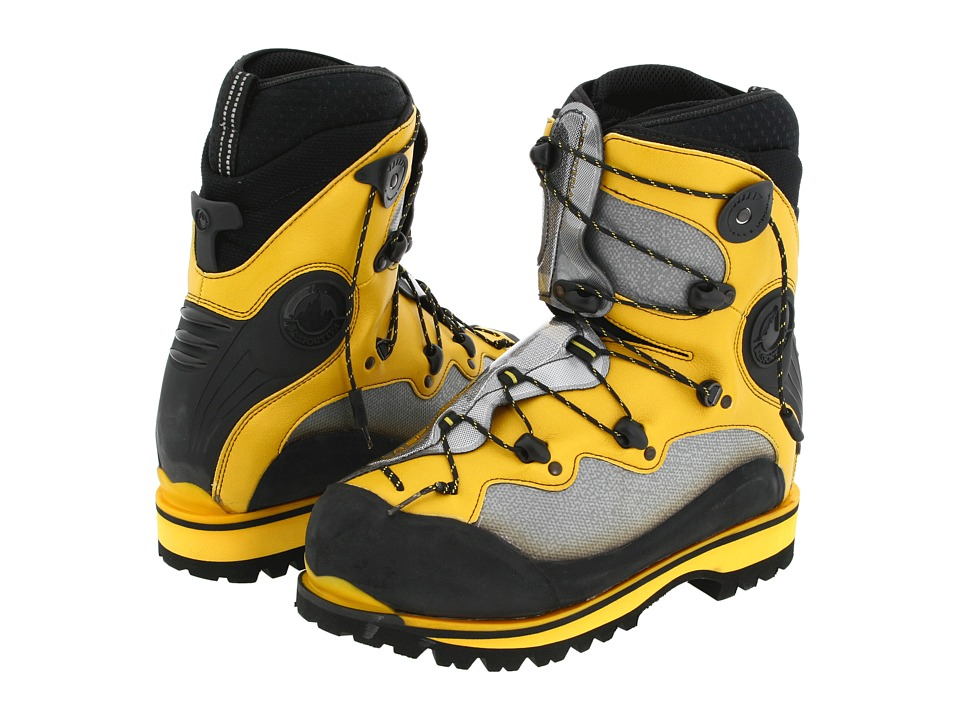 La Sportiva Spantik Yellow/Grey/Black Mens Boots