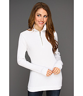 Allen Allen - Malibu Thermal Zip Mock Top