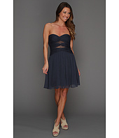 Max and Cleo - Michelle Strapless Lace Cutout Dress