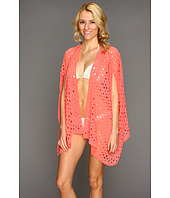 Steve Madden - Hot And Holey Kimono Shrug