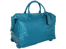 Lipault Paris JPS Series 2-Wheeled 20 Satchel (Aqua)