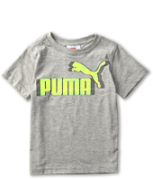 Puma Kids - Logo Grid Tee (Little Kids)