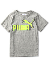 Puma Kids - Logo Grid Tee (Big Kids)