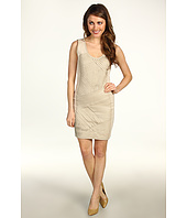 Badgley Mischka - Mark & James Leather Strip Ponte Dress