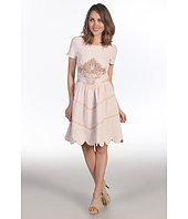 Badgley Mischka - Mark & James Dress w/ Applique