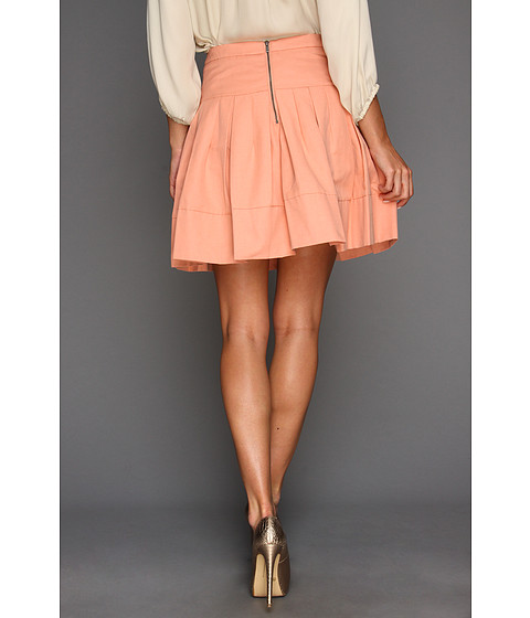 bcbgmaxazria pleated a line skirt clothing at 6pm