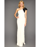 Badgley Mischka - One-Shoulder Deco Sleeve