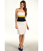 BCBGMAXAZRIA - Reesie Strapless Colorblock Dress