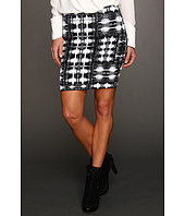 BCBGMAXAZRIA - Simone Ikat Power Skirt
