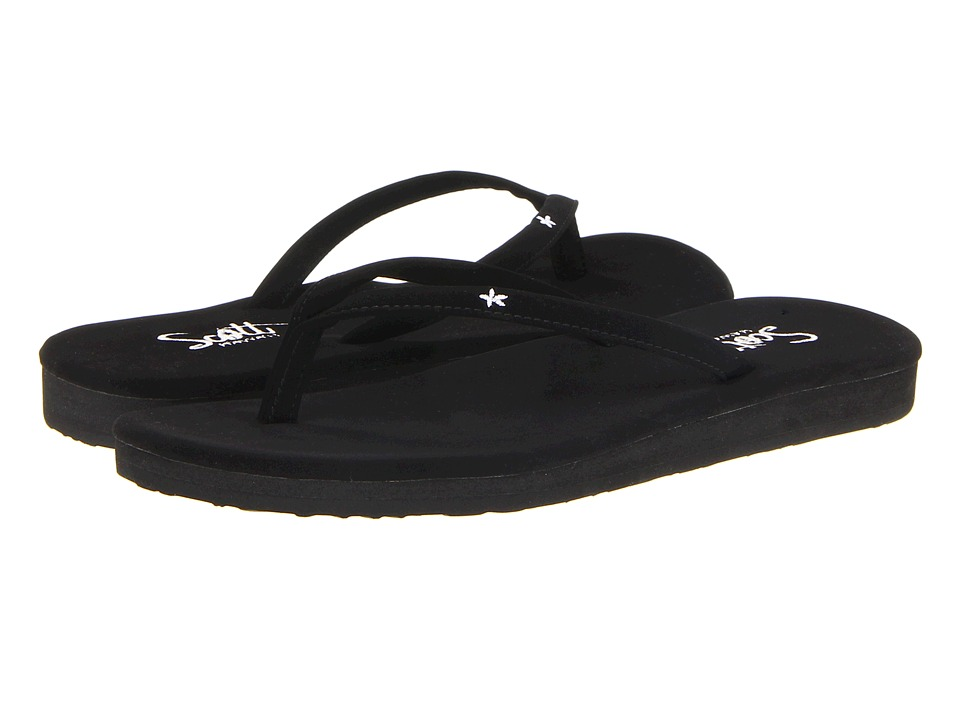 Scott Hawaii Mele Black Womens Sandals