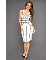 BCBGMAXAZRIA - Hanne Blocked Sheath Dress