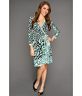 BCBGMAXAZRIA - Petite Printed Wrap Dress