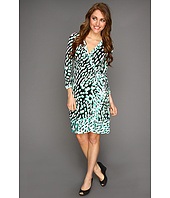 BCBGMAXAZRIA - Printed Wrap Dress