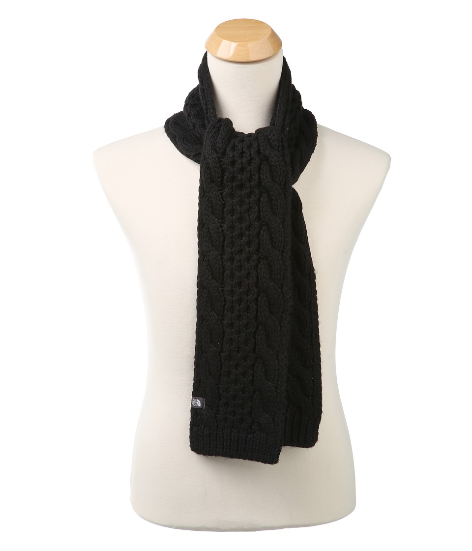 The North Face - Cable Minna Scarf (TNF Black) Scarves