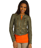 MICHAEL Michael Kors - Soft Leather Zip Jacket