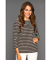 MICHAEL Michael Kors - Lobamba Stripe Boat Neck Top