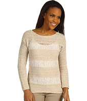 MICHAEL Michael Kors - Stripe Tape Yarn L/S Sweater