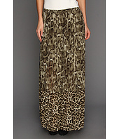MICHAEL Michael Kors - Mamba Snake Mix Pleated Skirt