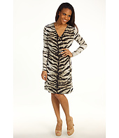 MICHAEL Michael Kors - Samburu Tiger L/S Wrap Dress