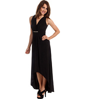 MICHAEL Michael Kors - MJ Sleeveless Pleated Front Maxi Dress
