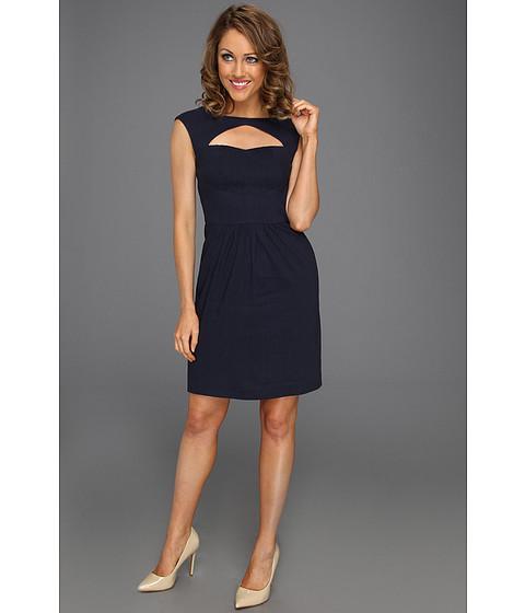 Cheap Rebecca Taylor Cut Out Dress Navy