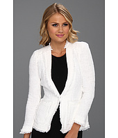 Rebecca Taylor - Tweed Jacket w/ Metallic Trim